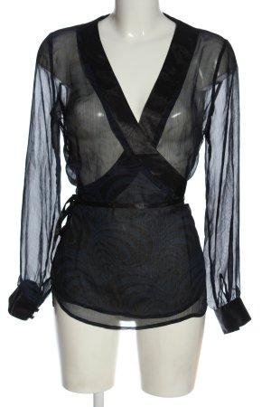 TCM Transparent Blouse black casual look