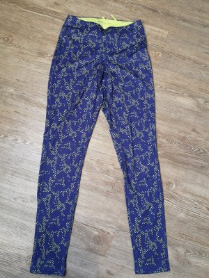 Tchibo / TCM Legging geel-blauw