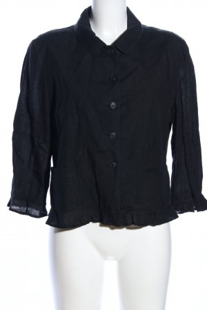 Team Collection Munich Giacca a blusa nero stile professionale