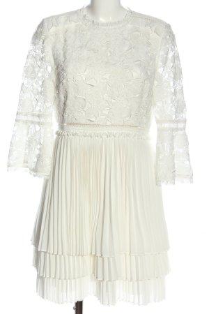 Ted baker Sukienka typu babydoll biały W stylu casual