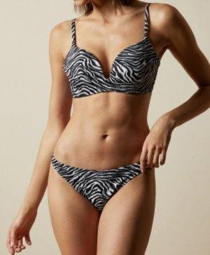 Ted Baker Bikini neu Gr. 38/C schwarz/weiß sehr schön. Zustand: Neu mit Etikett. Neupreis 130€