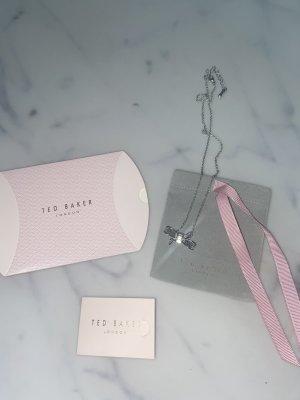 Ted Baker Bow Necklace Kette Halskette Silber