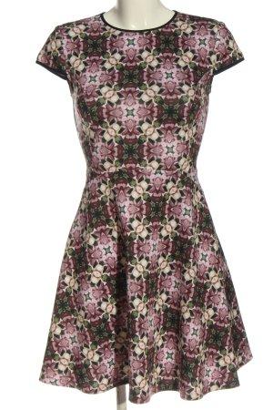 Ted baker Sukienka koktajlowa fiolet-khaki Na całej powierzchni W stylu casual