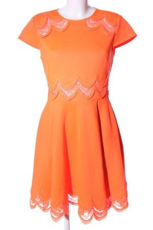 Ted baker Cut-Out-Kleid hellorange Elegant