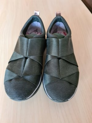 Ted Baker Designer Sneaker Turnschuh Größe 36 in khaki sehr angenehm zu tragen Zustand: Gebraucht selten getragen