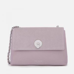 Ted Baker Handtasche Sylvan Acircle Lock Cross Body Bag flieder