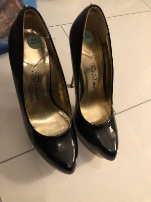 TED Baker high heels schwarz Lack neu !
