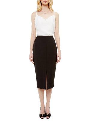 Ted Baker High Waist Pencil Skirt schwarz