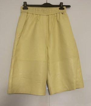 Ted baker 3/4 Length Trousers yellow-gold-colored leather