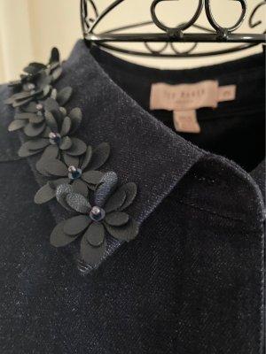 Ted baker Jeansowa sukienka ciemnoniebieski