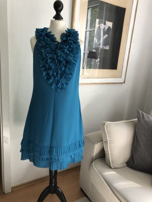 Ted baker Flounce Dress turquoise