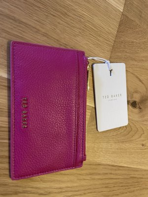 Ted baker Porte-cartes violet cuir