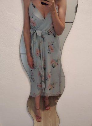 Ted baker Robe d'été bleu azur-rose clair polyester