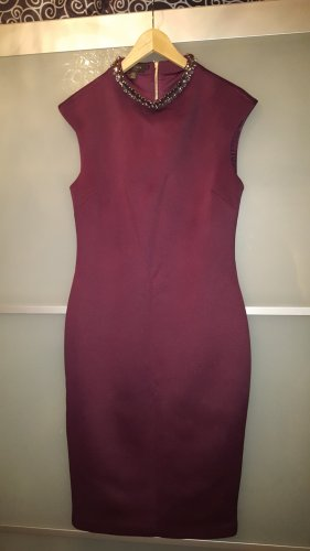 Ted Baker Kleid in Beere / Oxblood