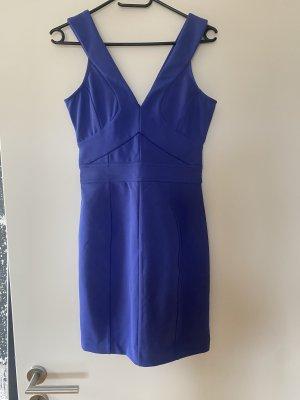 Ted Baker Kleid Midikleid blau lila S