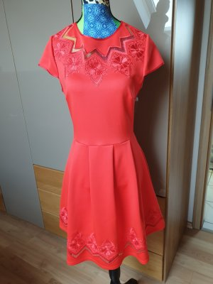 ted baker Kleid S rot mit Spitze