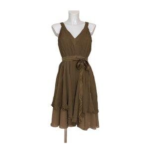 Ted baker Sukienka midi jasnobrązowy-beżowy