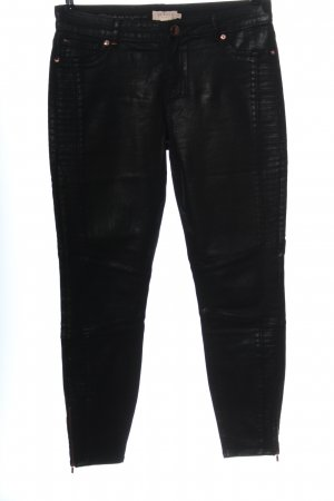 Ted baker Faux Leather Trousers black wet-look