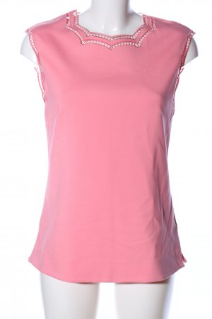 Ted baker Kurzarm-Bluse pink Casual-Look