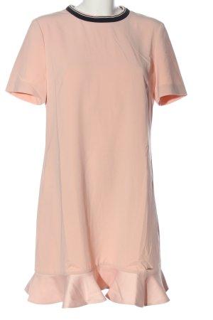 Ted baker Kurzarmkleid pink-schwarz Casual-Look