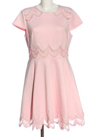 Ted baker Sukienka z krótkim rękawem różowy Elegancki