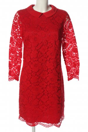 Ted baker Langarmkleid rot Casual-Look