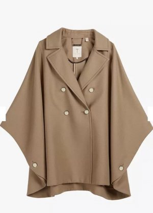 TED BAKER London !NEU! Double-breasted cape coat