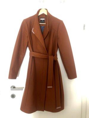 Ted baker Cappotto in lana marrone-cognac