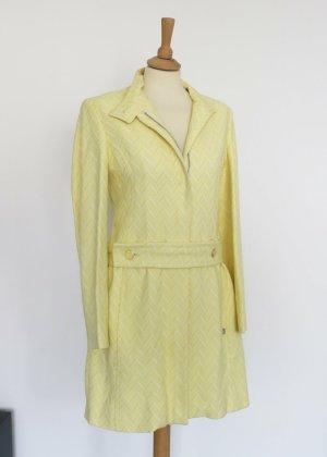 Ted baker Abrigo de entretiempo amarillo claro-blanco