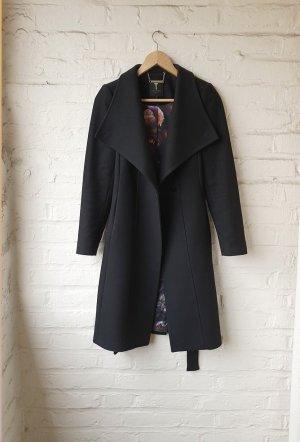 Ted baker Manteau en laine noir laine