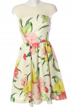 Ted baker Midi Dress flower pattern elegant