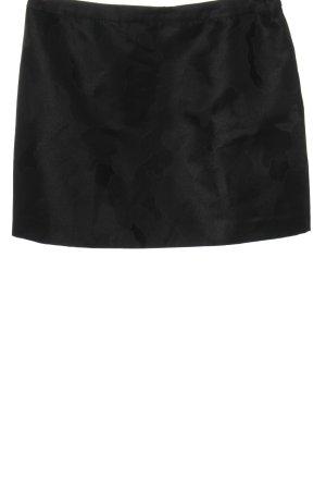 Ted baker Minirock schwarz abstraktes Muster Elegant