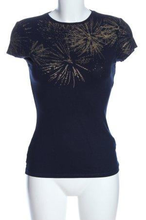 Ted baker Koszulka o kroju podkreślającym sylwetkę niebieski-złoto