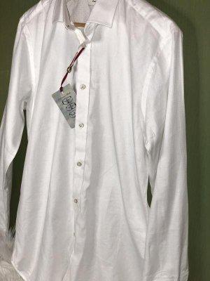 Ted baker Koszula z długim rękawem biały-w kolorze białej wełny