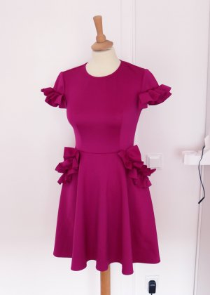 Ted baker Cocktail Dress magenta-raspberry-red