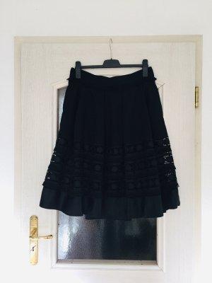 Ted baker Falda de encaje negro