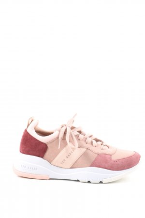 Ted baker Schnürsneaker creme-pink Casual-Look