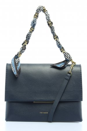 "Ted baker Schultertasche ""Evangli Scarf Chain Bar Detail Shoulder Bag"" blau"