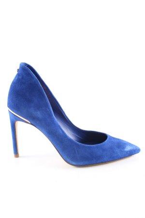 Ted baker Spitz-Pumps blau extravaganter Stil