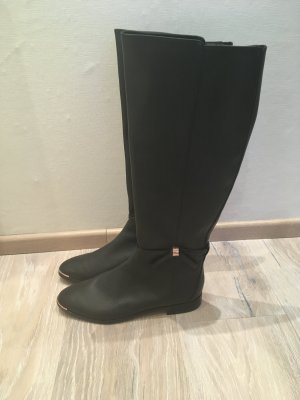 Ted Baker Stiefel Boots schwarz Leder Gr. 38