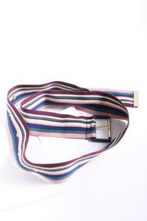 Ted baker Cintura in tessuto motivo a righe stile casual