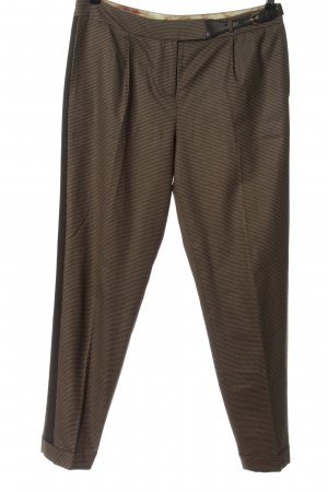 Ted baker Jersey Pants brown-black check pattern business style