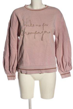 Ted baker Bluza dresowa różowy Wyhaftowany logo W stylu casual