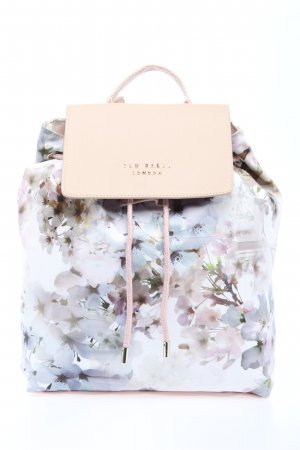 "Ted baker Daypack ""Sukki Vanilla Nylon Drawstring Backpack"""