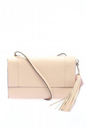 "Ted baker Umhängetasche ""Natalei Leather Tassel Detail Crossbody Bag"" creme"