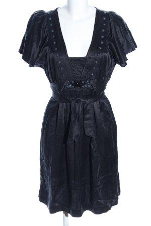 Ted baker Wickelkleid schwarz extravaganter Stil