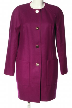 Ted baker Wollmantel pink Business-Look