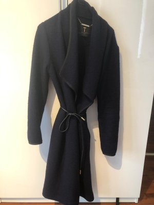 Ted baker Wool Coat dark blue