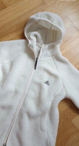 Adidas Kurtka polarowa biały
