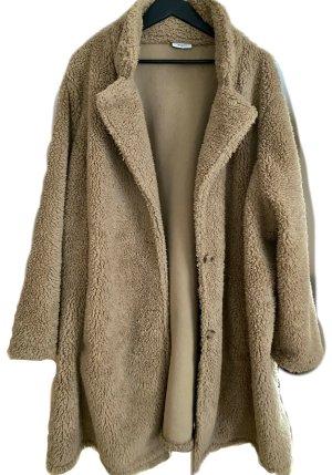 C&A Yessica Pluszowa kurtka beżowy